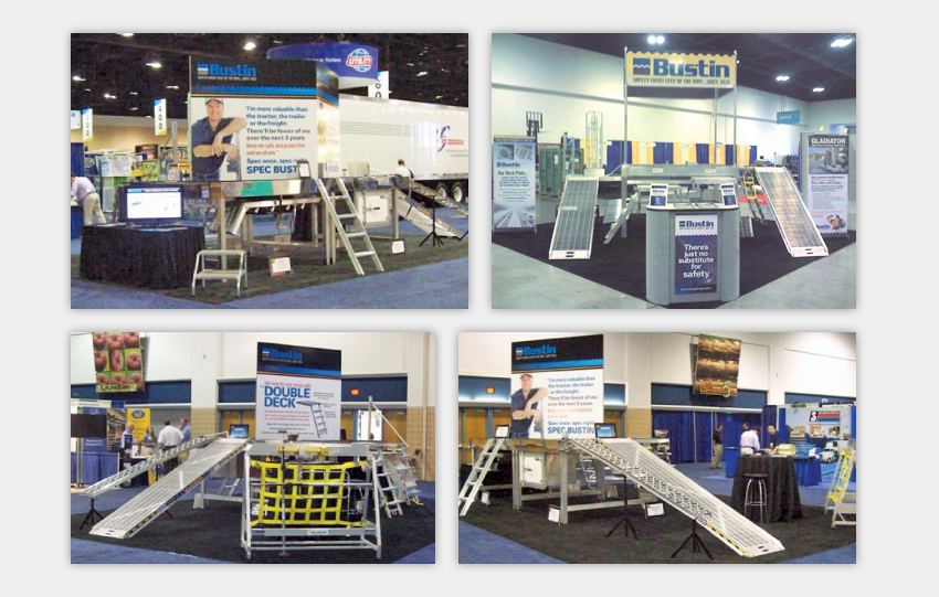 Industrial Product Sales Trade Show Displays