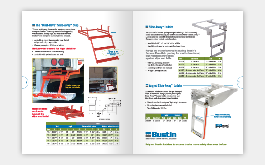 Industrial Product Sales Catalog