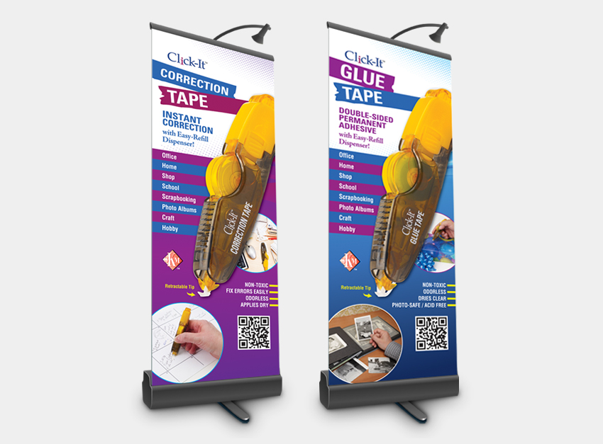 New Product Launch Trade Show Pull Ups