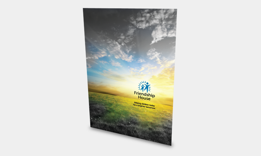 Non-Profit Marketing Folder